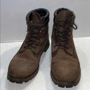 Timberland Brown Leather Boots , Sz 11.5
